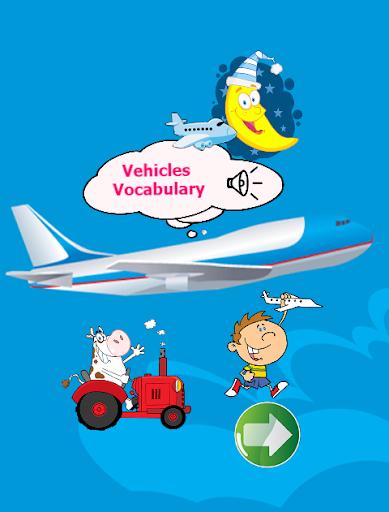 English vocabulary vehicle