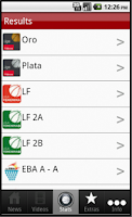Screenshot of Spain Basketball - League News