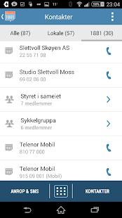 Opplysningen 1881 Mobilsøk - screenshot thumbnail