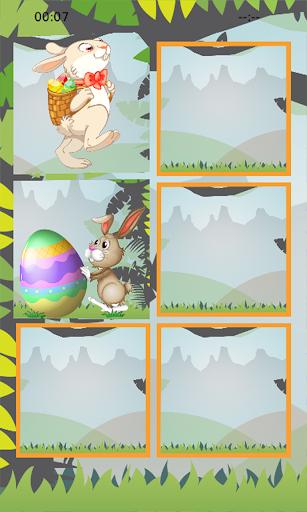 免費解謎App Easter Bunny Memory Puzzle 阿達玩APP