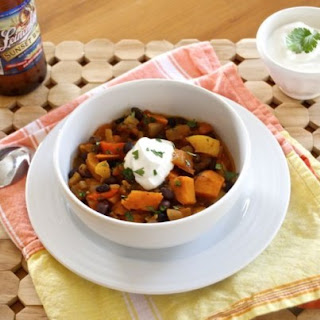 Hearty Vegetarian Beer Chili