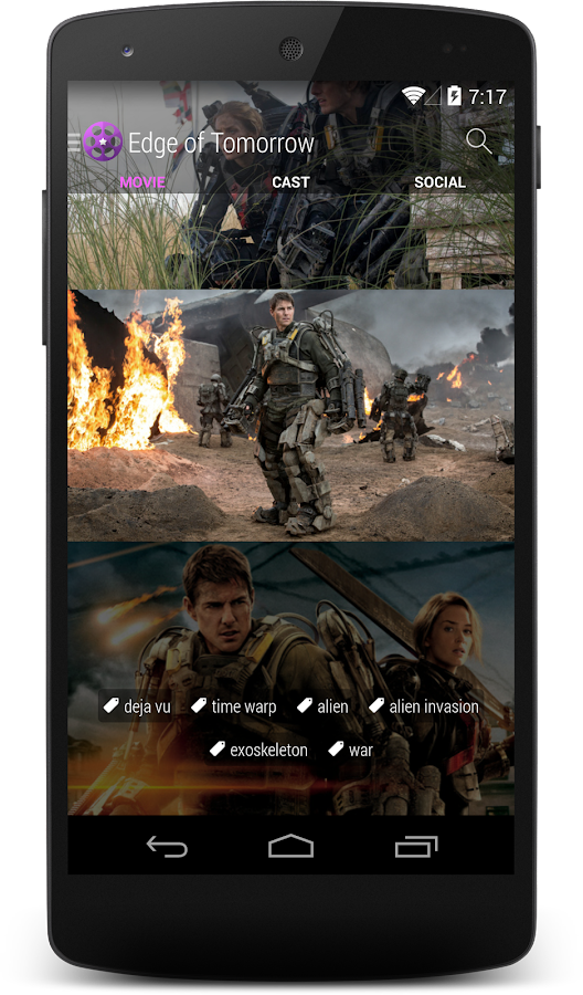 Movie Roll Pro - TV & Movies - screenshot
