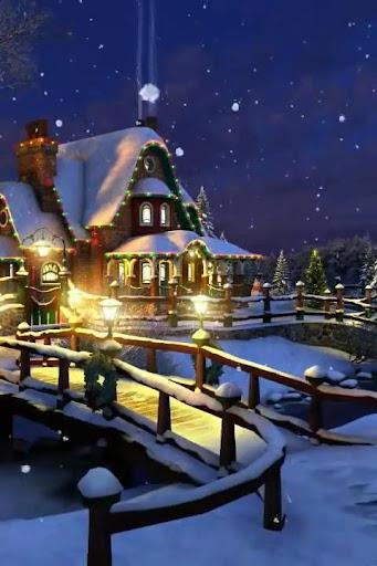 Magical Christmas 3D Wallpaper