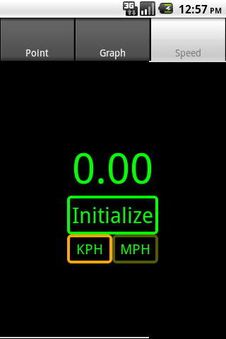 Accelerometer - screenshot
