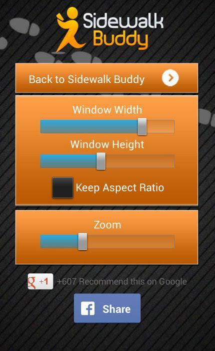 Sidewalk Buddy - screenshot