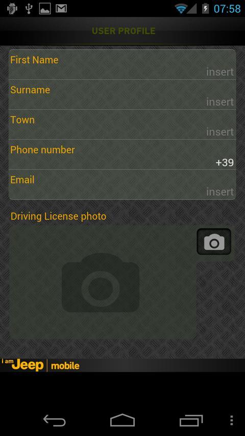I am Jeep Mobile- screenshot