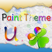 GO Launcher EX Paint Theme