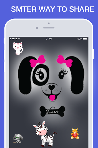 Cute Animal Emoji Sticker