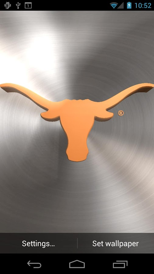 Texas Longhorns Pix & Tone - screenshot