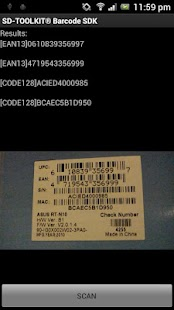SD-TOOLKIT® Barcode SDK- screenshot thumbnail