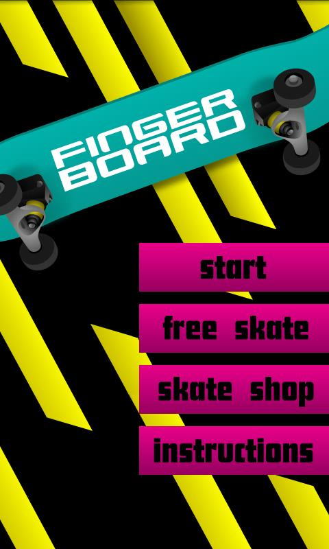 Fingerboard: Skateboard Pro- screenshot