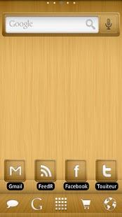 ADWTheme Wood Screenshot 1