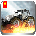 3D Tractor Parking app icon