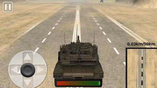 Tanks Ambush War