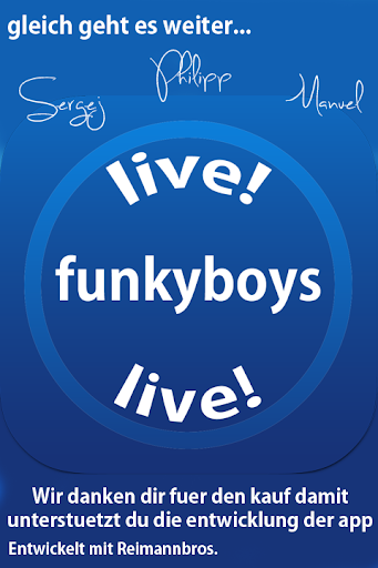 funkyboys live