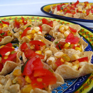Creole Roasted Fresh Corn-Tomato Salsa