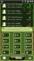 Screenshot of GOContacts theme BAMBOO