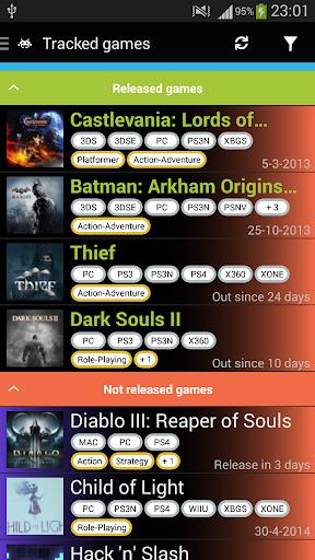 GameRD - Game Release Dates