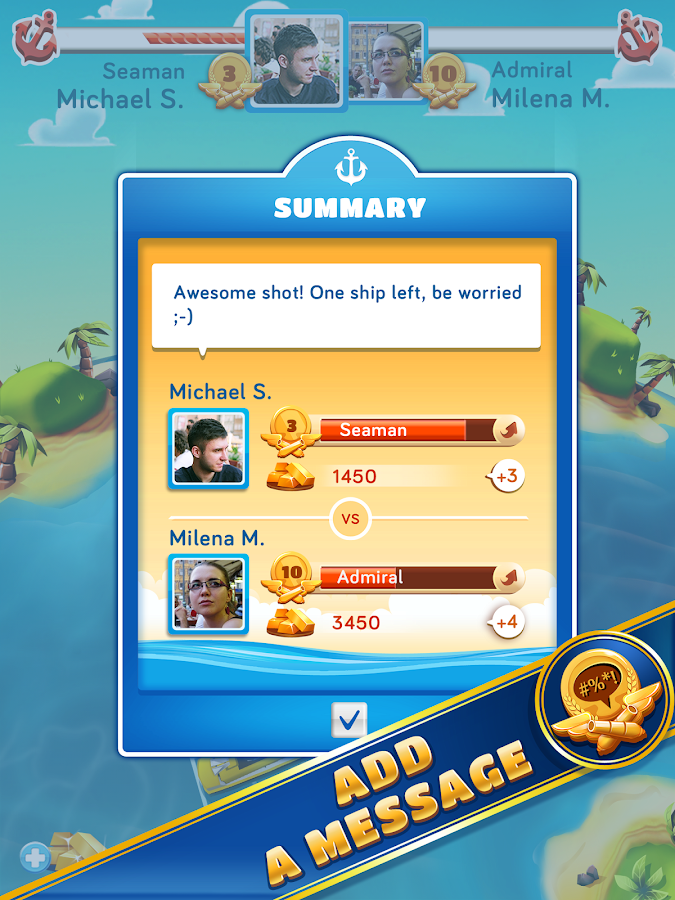 BattleFriends at Sea PREMIUM - screenshot