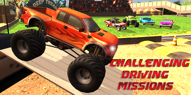 ULTIMATE MONSTER TRUCK RALLY 賽車遊戲 App-愛順發玩APP