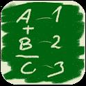 Digit symbol puzzle logo