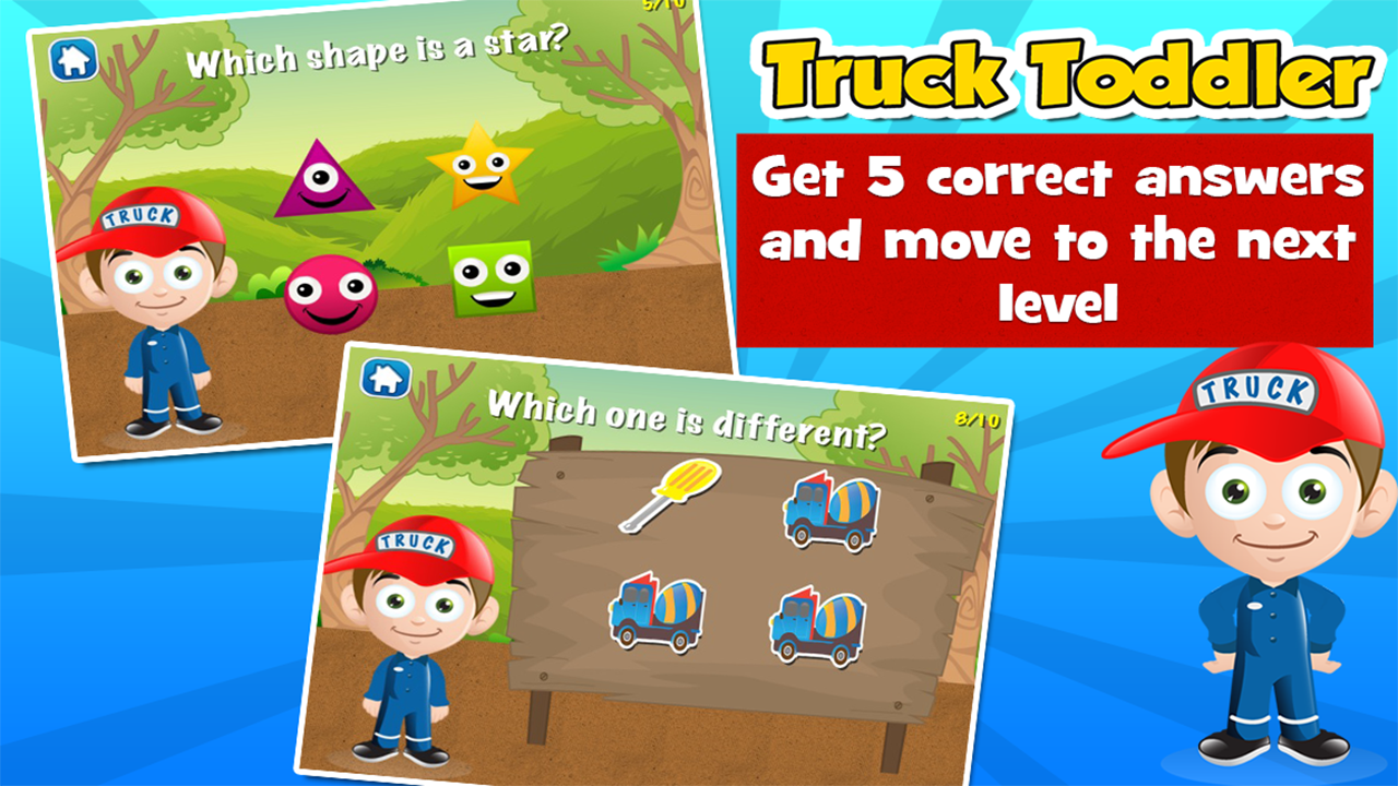 truck toddler kids games free android apps on google play