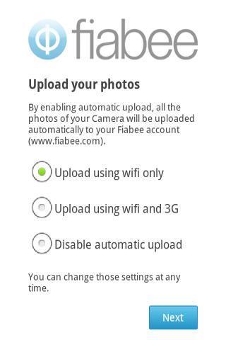 Fiabee - screenshot