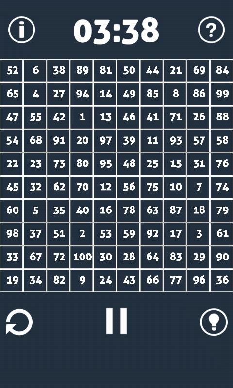 Challenge 100 - screenshot