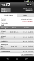 Screenshot of Tele2