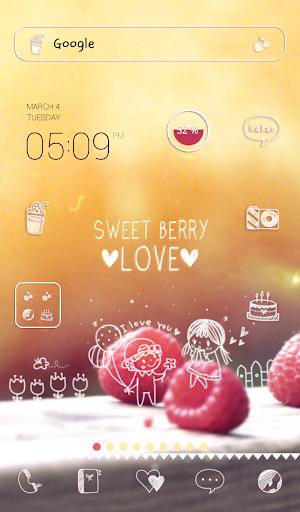 sweet berry love 도돌런처 테마