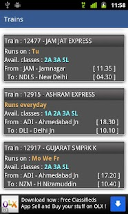 Indian Rail Enquiry - screenshot thumbnail