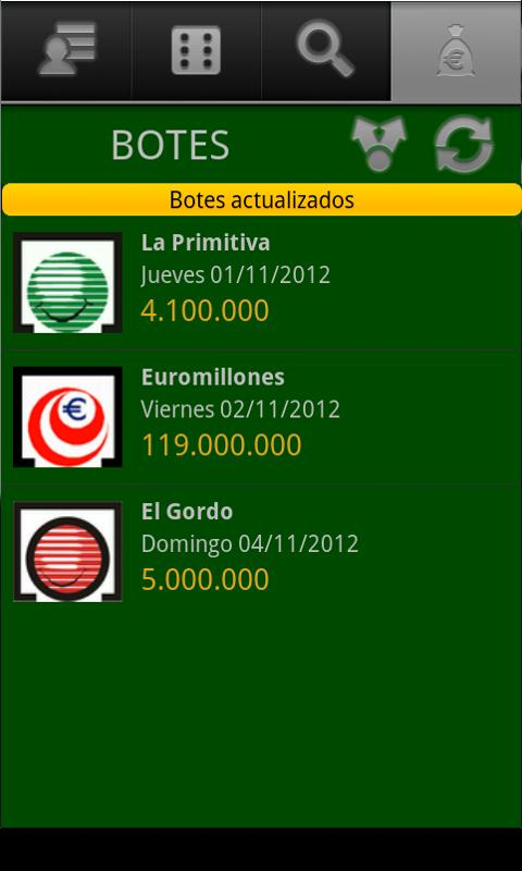 Loterias y Apuestas de España– скриншот