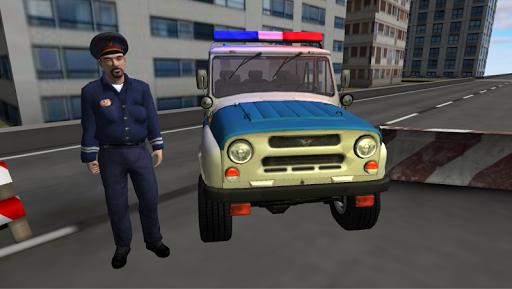 UAZ Police Traffic Pursuit 3D