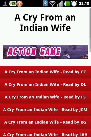 A Cry From an Indian Wife - screenshot