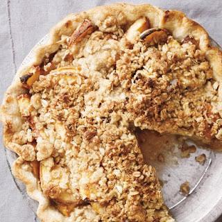 Peach Crumble Pie.