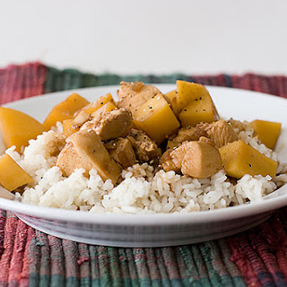 Adobo Chicken with Potatoes.