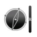 Micro Spirit Level + Compass icon