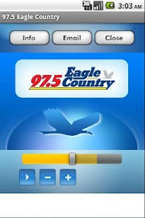 97.5 Eagle Country - screenshot thumbnail