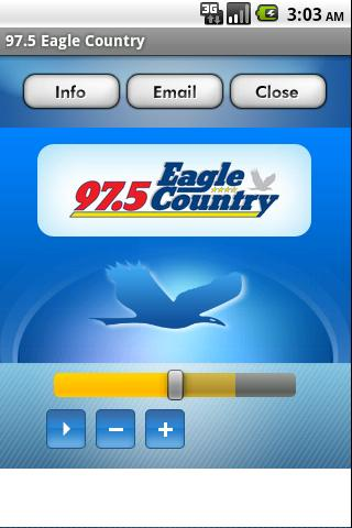 97.5 Eagle Country - screenshot