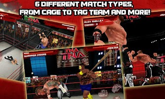 Screenshot of TNA Wrestling iMPACT!