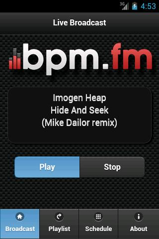 BPM.fm- screenshot