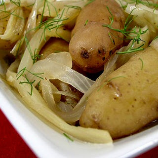 Fingerling Potatoes and Fennel