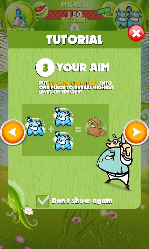 Dr. Darwin- screenshot