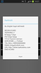Barkod Okuyucu - screenshot thumbnail