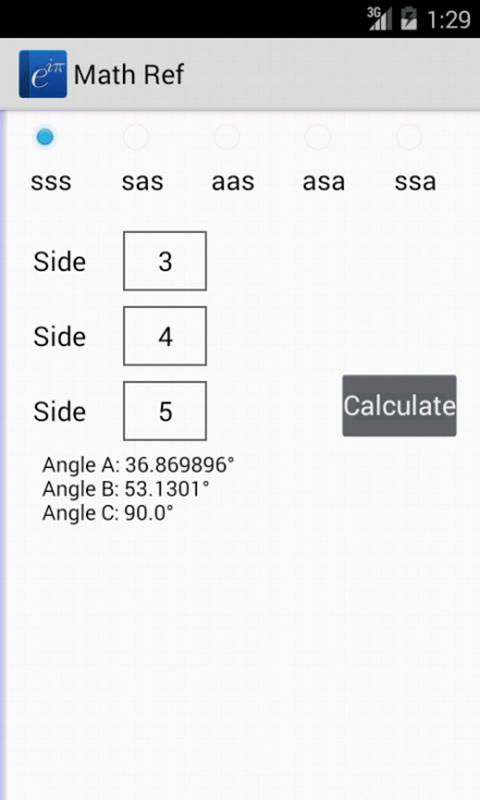 Math Ref screenshot #14