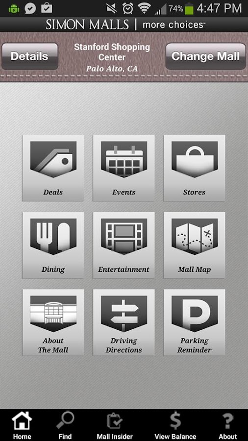Simon Malls: Shopping Mall App - screenshot