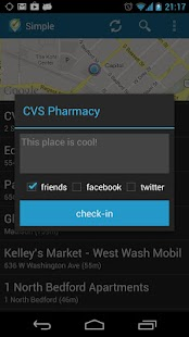Simple Checkin for Foursquare - screenshot thumbnail