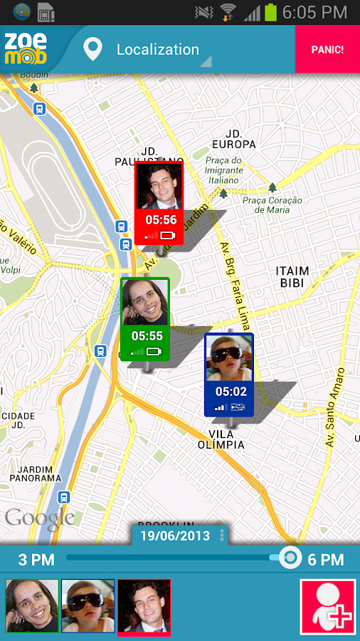 Family locator free - screenshot