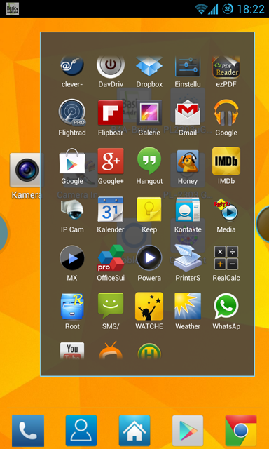 Bubble Launcher XDA (FREE)- screenshot