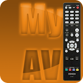MyAV AV+BD+TV remote for Denon